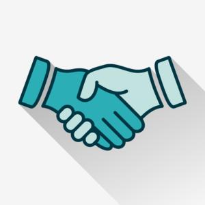 Dow DuPont Hand Shake