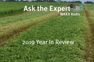 Ask the Alfalfa Expert 2019 a Year in Review