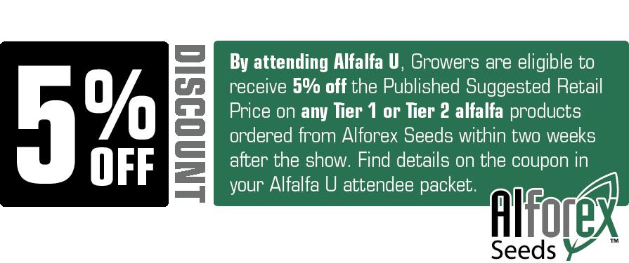 Alfalfa U 2020 Discount Offer