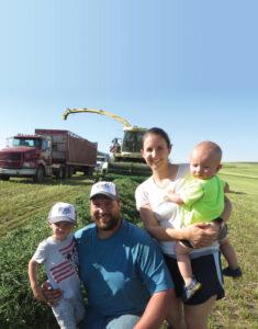 Alforex Seeds Hi-Gest 360 alfalfa grower, Eric Schuller, Ierton, IA