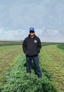 Alforex Seeds Hi-Gest 660 alfalfa grower, Justin Pistch, Friona, TX