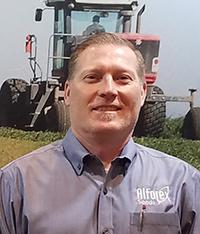 Derek Barber, District Sales Manager for E2