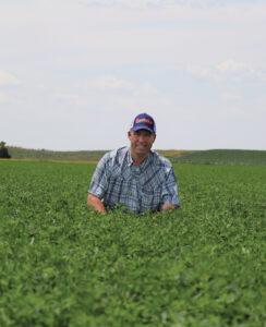 Kevin Melvin AFX 579 grower, Greensburg, KS